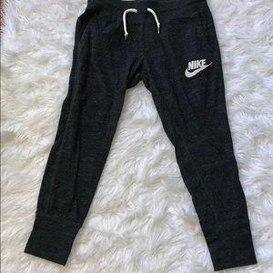 nike crop sweats